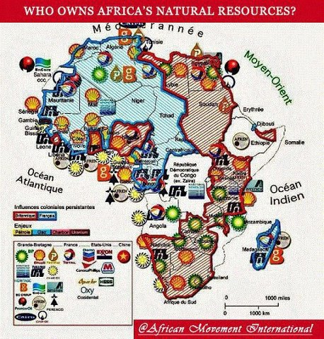 Map Of Africa Natural Resources.Who Owns Africa S Natural Resources